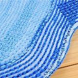 LUQUAN Big Feet Style Bathroom Anti-Slip Water Absorption Plush Floor Mat Gate Pad Carpet - Color Random