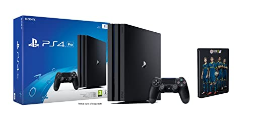 PlayStation 4 Pro (1TB) FIFA 17 Steelbook Edition (exkl. bei Amazon.de) Bundle