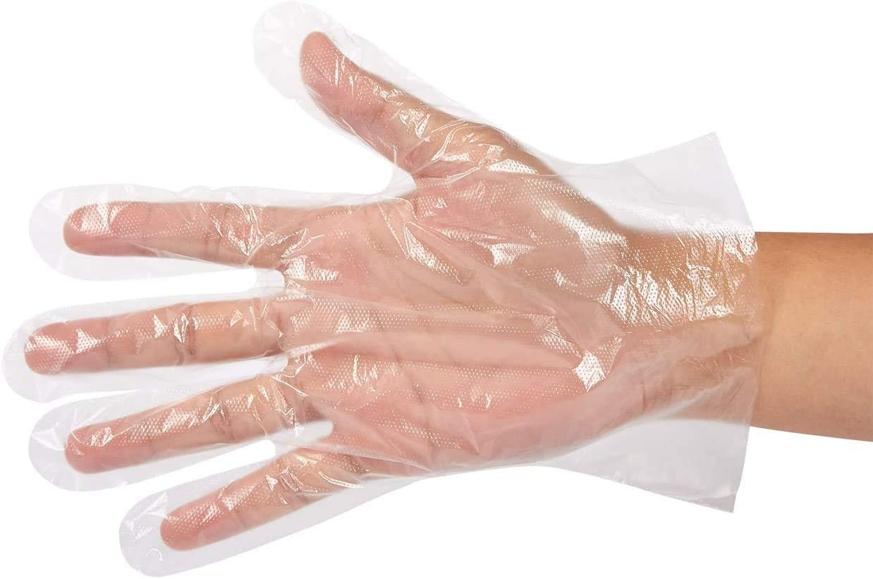 Food Handling Disposable Gloves, One Size Fits Most (500 Pack)
