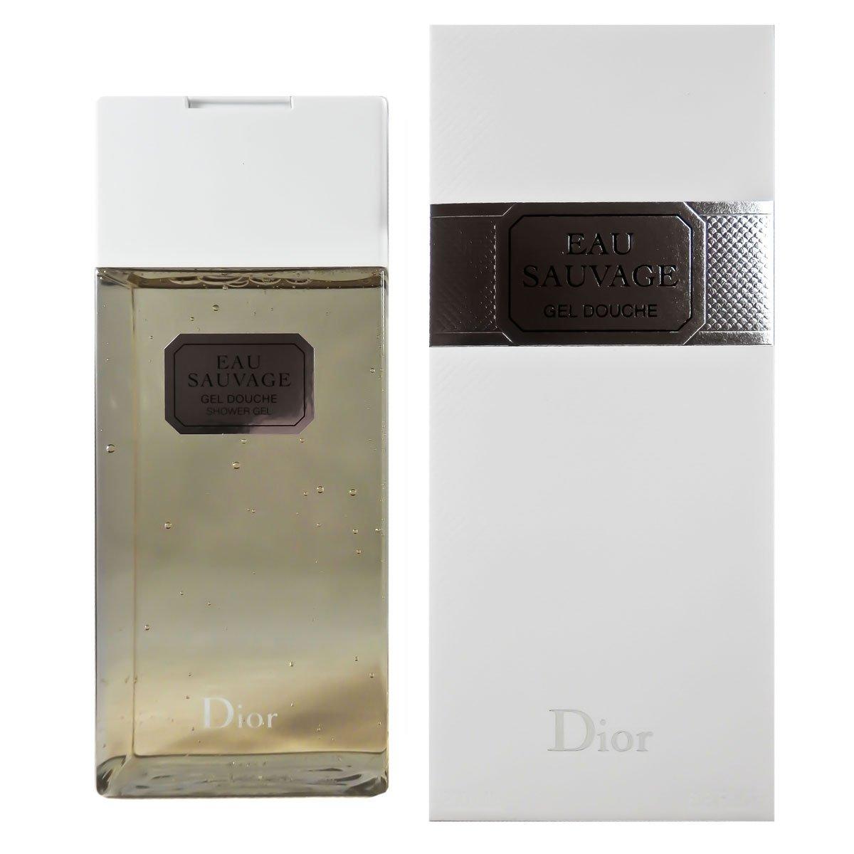 Dior Bagnoschiuma, Eau Sauvage Gel Douche, 200 ml 3348901250122
