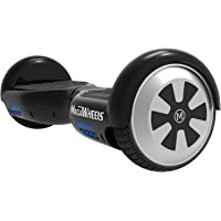 "M MEGAWHEELS Hover boards 6.5"" Electric Self Balancing Scooter Board Built in Bluetooth Speaker with LED light, UL Certified"