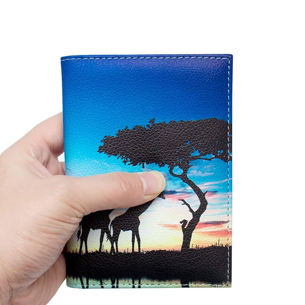 RGBIWCO Animal Printed Multi-purpose Travel Passport Holder ID Credit Card Case 05