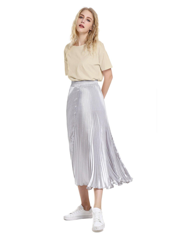 ZAN.STYLE Women's Plus Size Slub Cotton Tunic Tee Shirt Long T Shirt for Leggings X-Large Style 2-Light Khaki by ZAN.STYLE (Image #7)