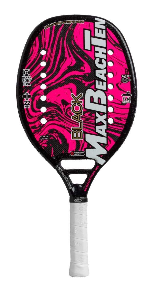 Pala de Tenis Playa MBT BLACK 2019: Amazon.es: Deportes y aire libre