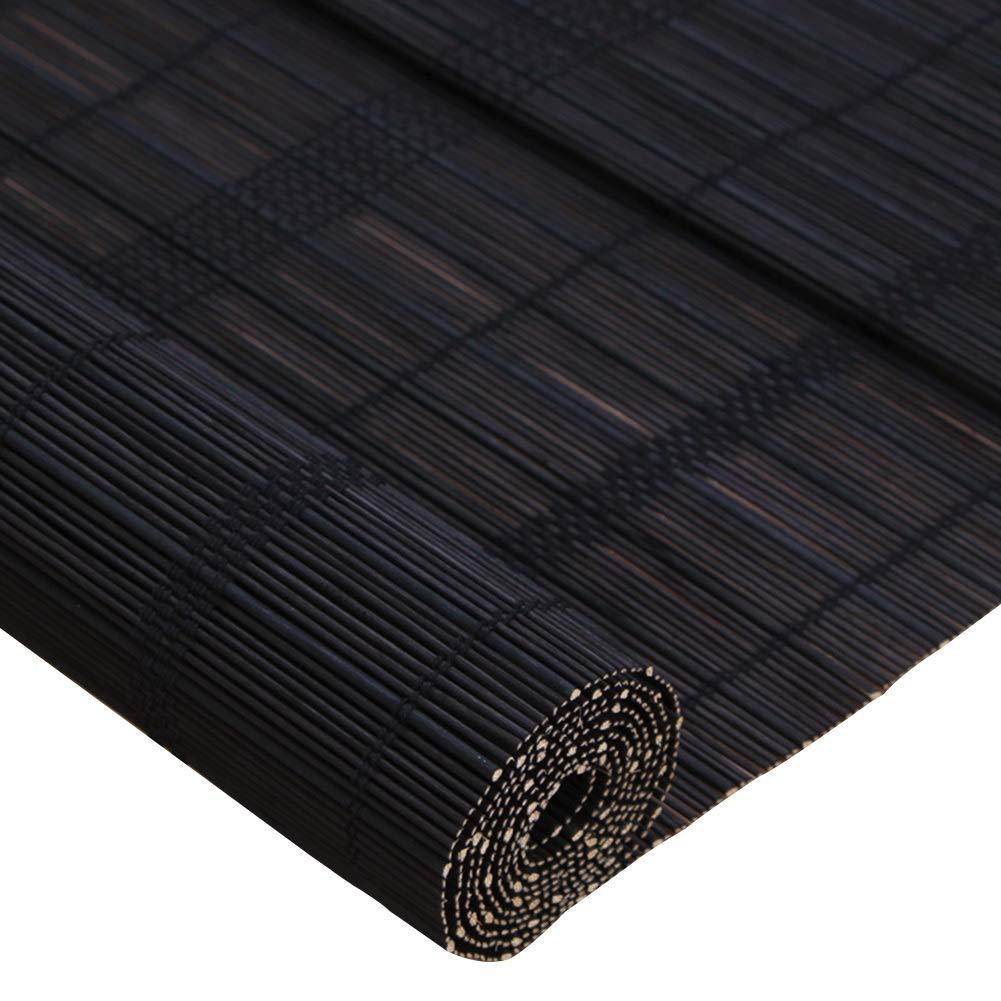 CAIJUN Tenda di bambù Protezione Solare Anti-UV Sollevamento con Coulisse al Coperto Balcone Cortina Divisoria, 3 Stili, Formato Personalizzato (colore   B, Dimensioni   100x180cm)
