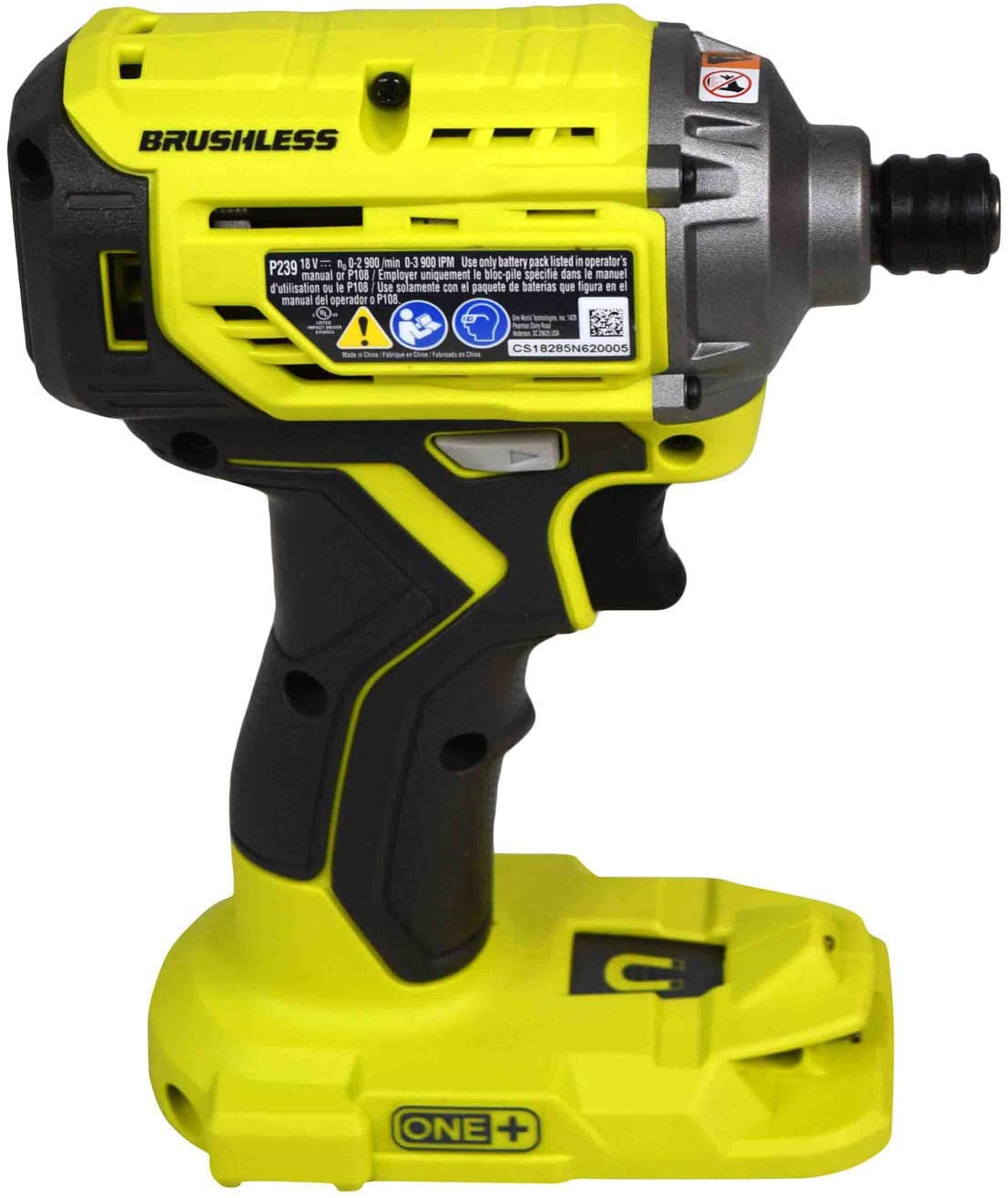 Ryobi P239 18V One Brushless Lithium-Ion Impact Driver Bare Tool Only Bulk Packaged