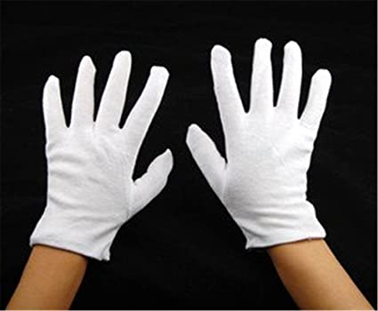 Ardisle blanco de algodón guantes Dermatológicos para Eczema piel seca seca Hidratante Crema: Amazon.es: Belleza