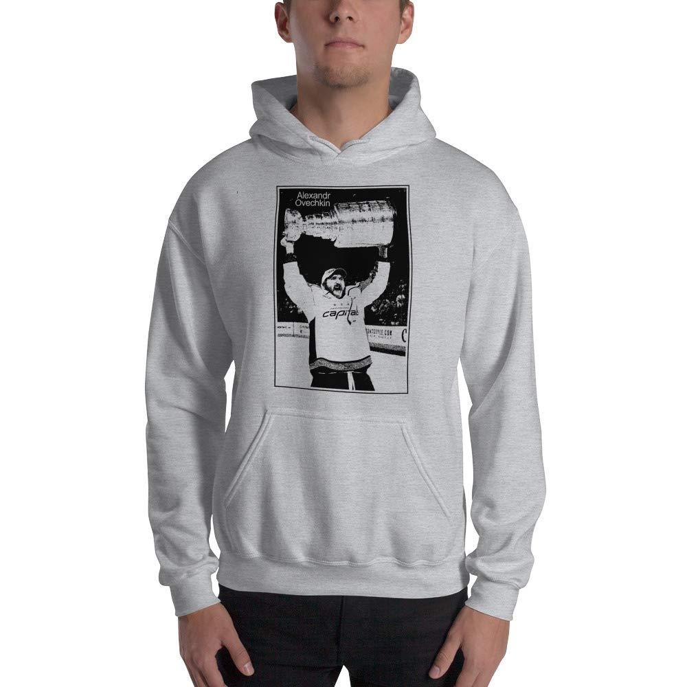 Hooded Sweatshirt ice Hockey Legend Front Style Alexander Ovechkin Hoodie