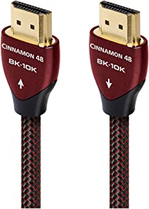 AudioQuest Cinnamon 48 2.25m 8K-10K 48Gbps HDMI Cable (7.4ft)