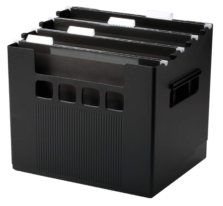 Pendaflex Super DecoFlex Desktop File, 1 Each, Letter, Black (43013) Esselte Corporation