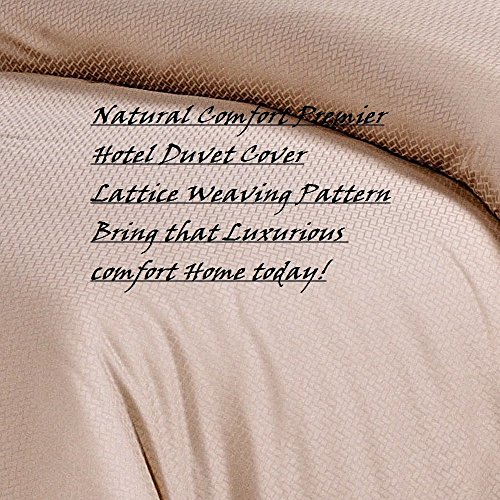 natural-comfort-premier-hotel-select-duvet-cover-queen-lattice-champagne