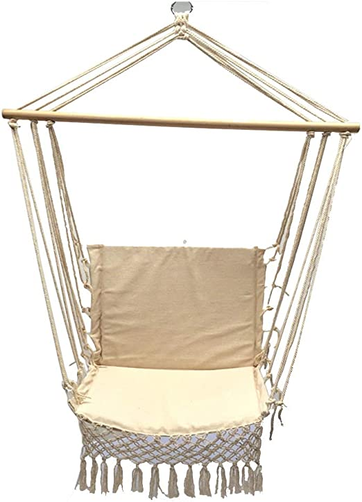 Outdoor Furniture Sitting Hanging Hammock Chair Swing Garden Seat