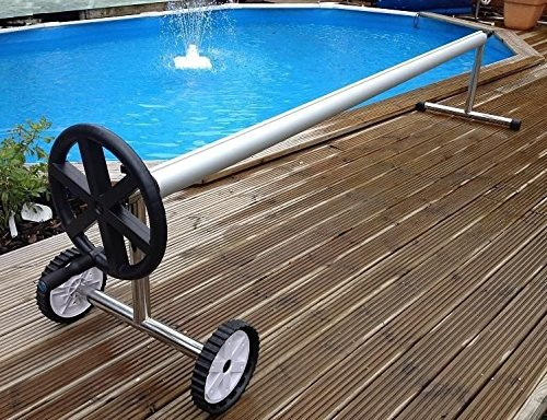 ARKSEN Stainless Steel Solar Cover Reel For Swimming Pools Up To 21' Feet Wide Inground (Solar Cover Reel compare prices)