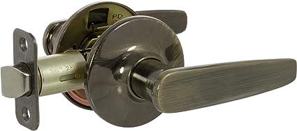 Delaney Hardware 502t Ah Us5 Privacy Asheville Lever Privacy Antique Brass Door Levers Amazon Com