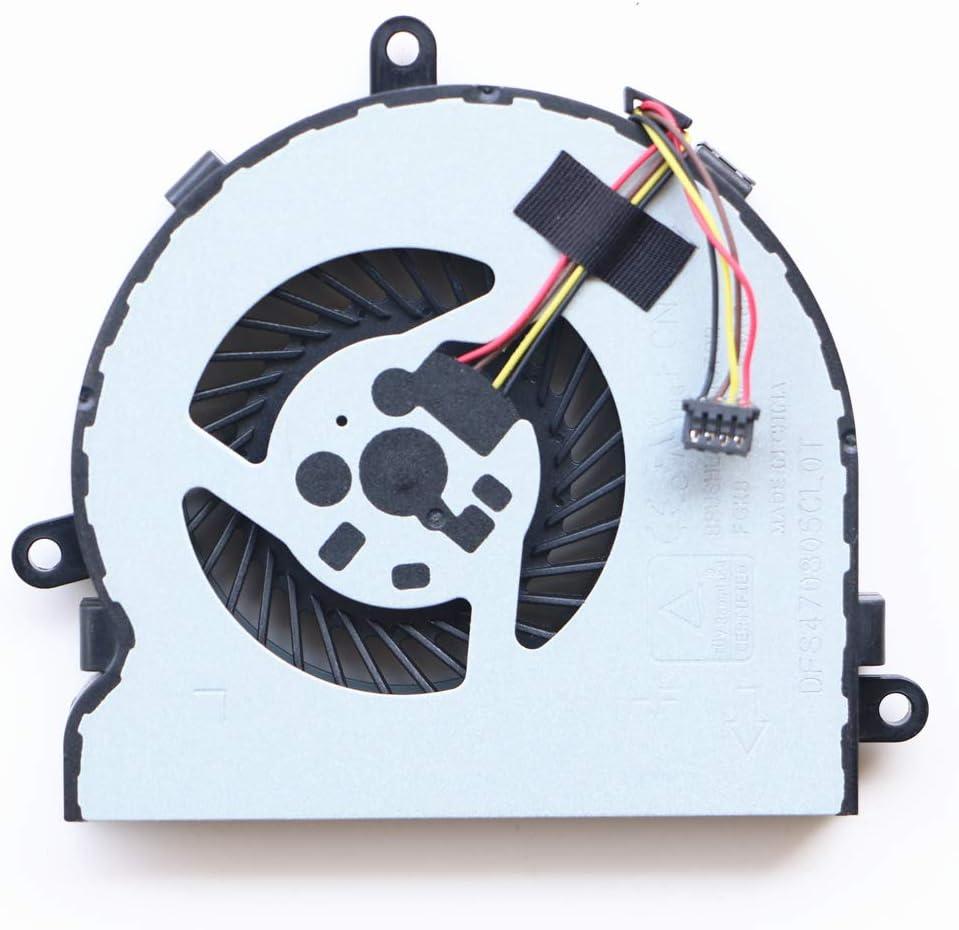925012-001 Laptop System Fan for HP 15-bw 15-bw001 15-Bw011DX 15-bw004wm 15-bw032wm 15-bw033wm 15-Bw015DX 15-bw016dx 15-bw038dx 15-bw099au 15-Bw018ur 15-bw059ur 15-bw032ur 15-bw070ax CPU Cooling Fan