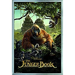 "Trends International the Jungle Book-King Louie Wall Poster, 24.25"" X 35.75"", Multi"