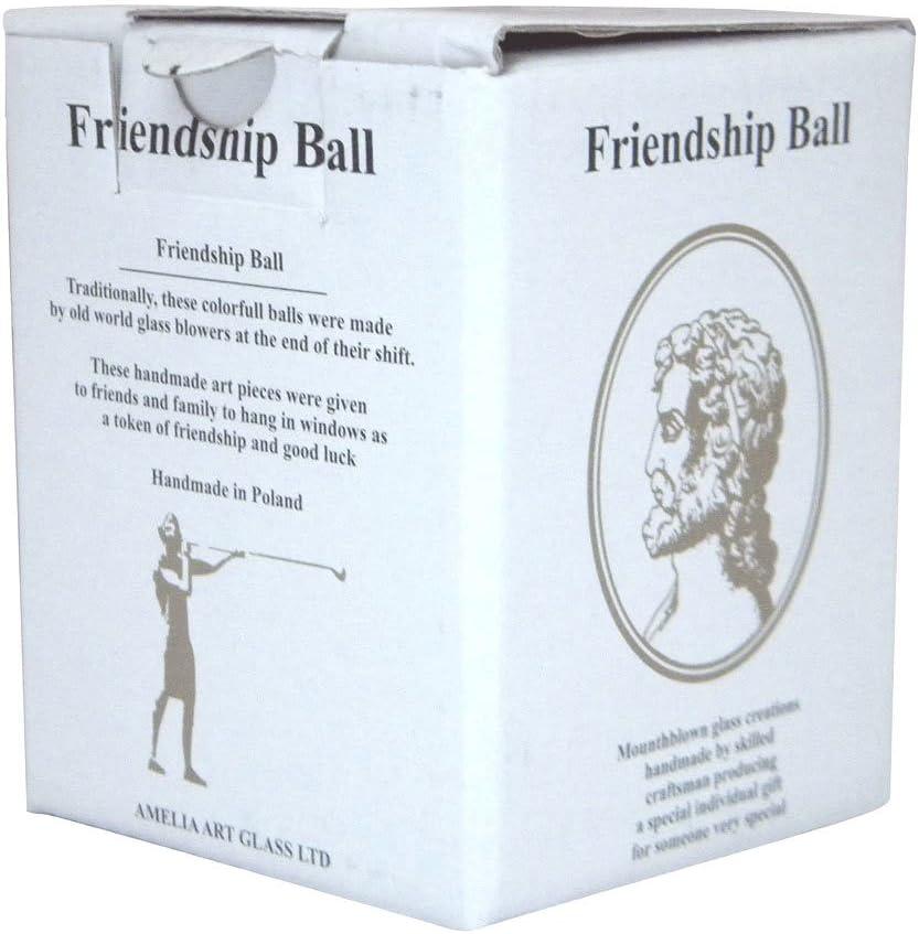 Glass Friendship Ball 12cm Turquoise