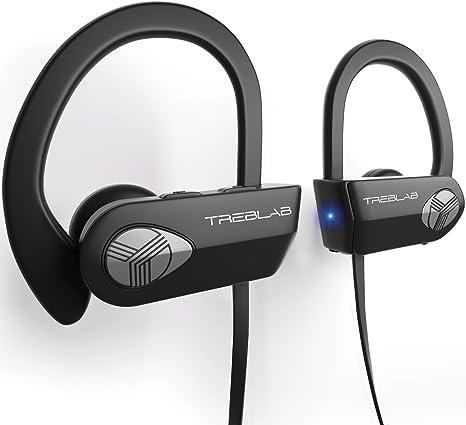 13d2766a8b9 TREBLAB XR500 Bluetooth Headphones, Best Wireless Earbuds for Sports,  Running Gym Workout. 2018