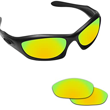 4f30516fa9 Image Unavailable. Image not available for. Color  Fiskr Anti-saltwater  Polarized Replacement Lenses for Oakley Monster Dog Sunglasses