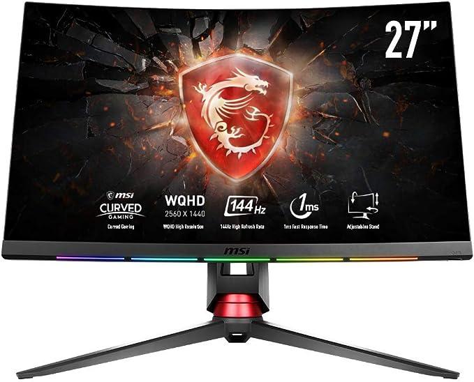 27 Zoll WQHD-Monitore mit 144 Hz MSI Test