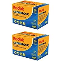 Kodak Ultramax 400 Color Negative Film (ISO 400) 35mm 24-Exposures - 2 Pack (2 Items)