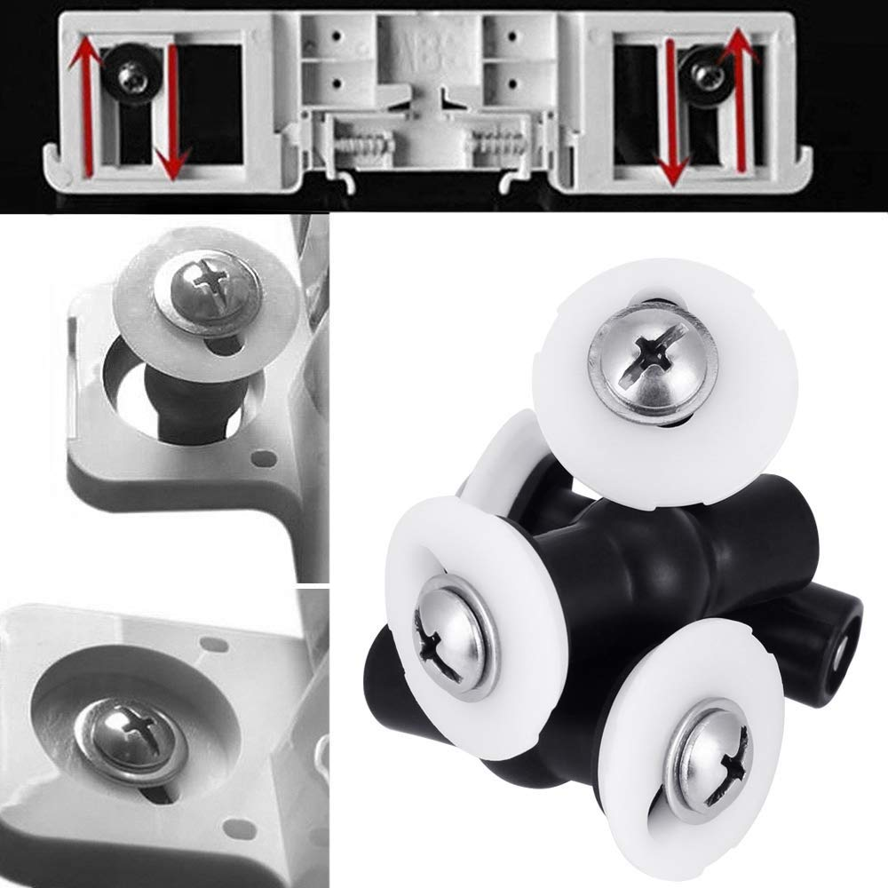 4Pack Toilet Seat Screws Toilet seat Fittings and fixtures Expanding Rubber Top Nuts Screws