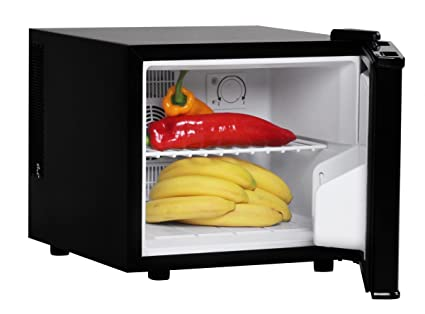 Mini Kühlschrank Edelstahl : Amstyle minikühlschrank liter minibar schwarz freistehender