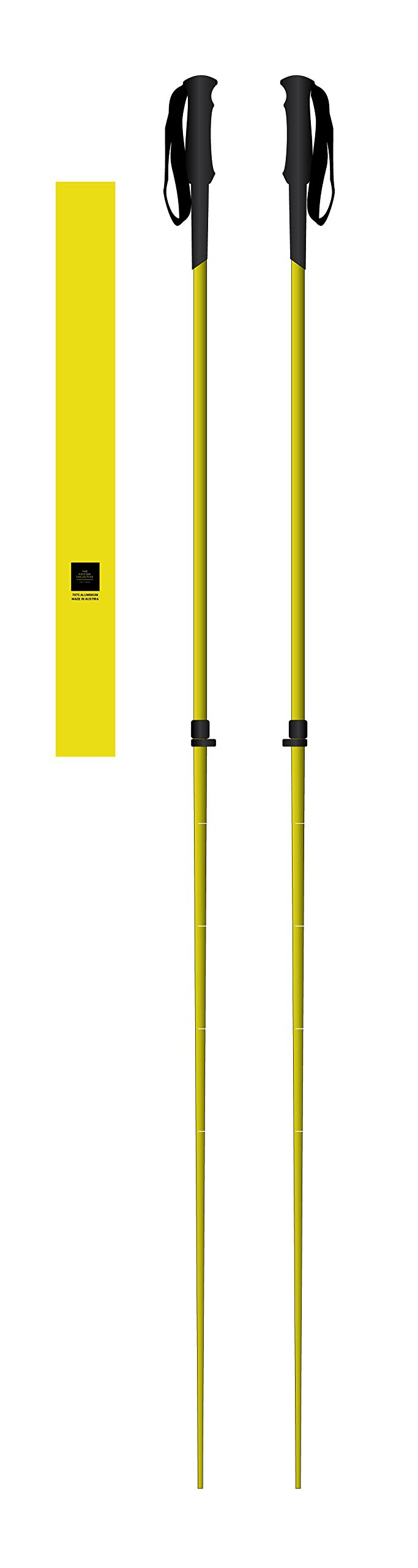 Faction Skis Prime Adjustable - Yellow, One Size by Faction Skis