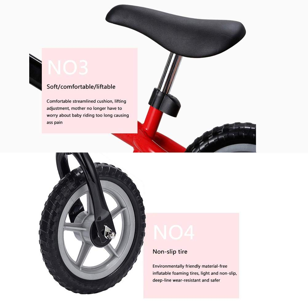 Andador con 2 ruedas, para niños y niñas, patinaje, balancín ...