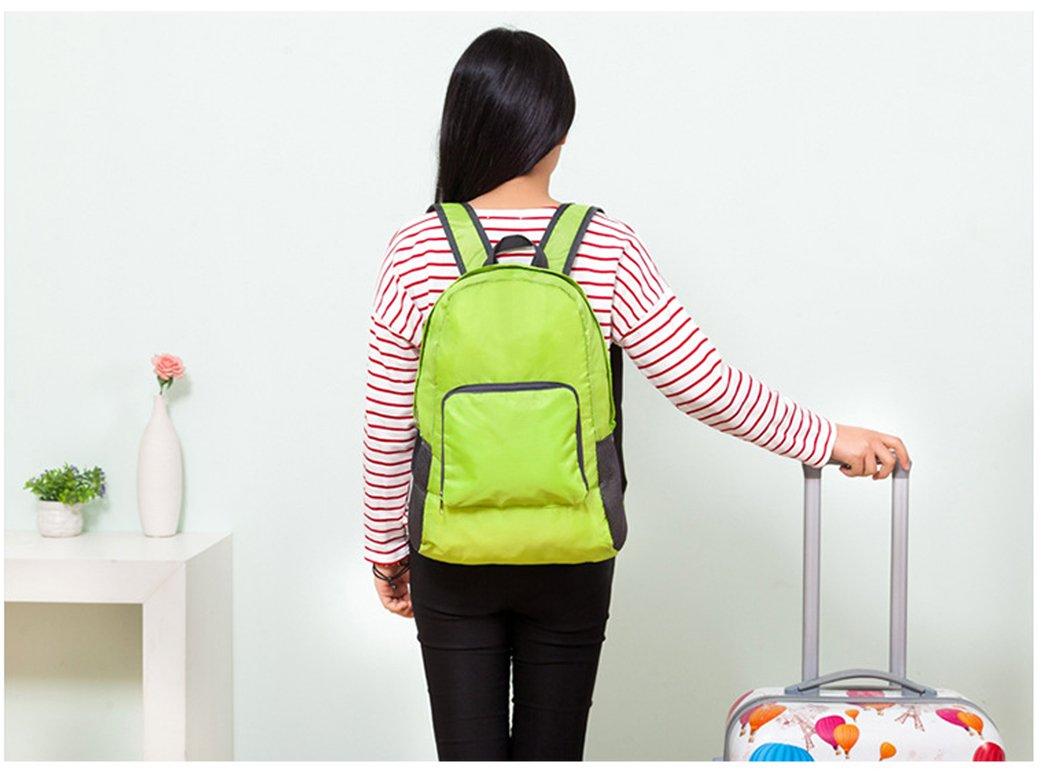 Hillento ultra l/éger eau sac /à dos packable Voyage r/ésistant /à la randonn/ée daypack sac /à dos petit sac /à dos de camping pliable pratique sac /à dos en plein air petit sac
