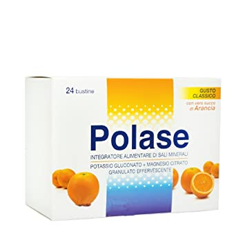 Polase Taste Orange Mineral Salt Nutrition Supplement 24 Bustines