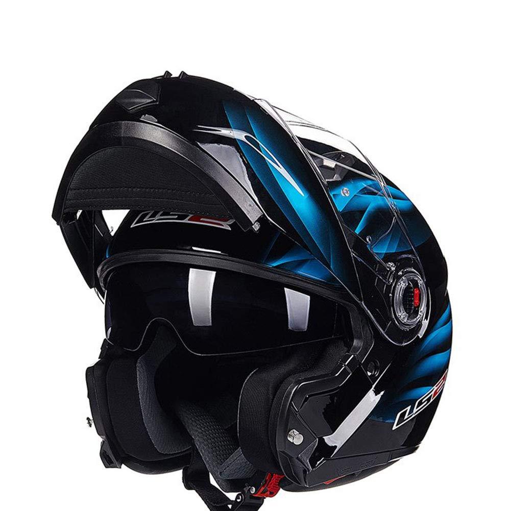 1-1 Motorrad Off-Road Helme Straße Berg Sicherheit Vollgesicht Flip-Up Anti-UV Anti Nebel Sicherheit Schutzausrüstung
