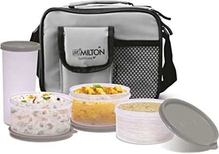Milton Meal Combi Lunch Box Set, Colors May Vary  EC SOF FST 0008_ASSR  Lunch Boxes
