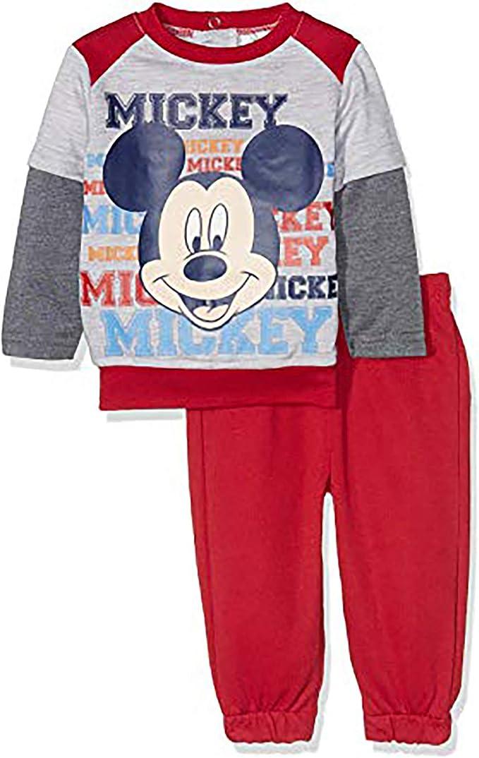 Tuta Grigia-Nera Topolino Mickey Disney