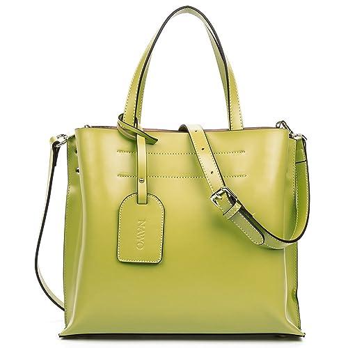 NAWO Leather Designer Handbags Shoulder Tote Top-Handle Bag Clutch Purse  for Women on Sale 8679dcf388d88