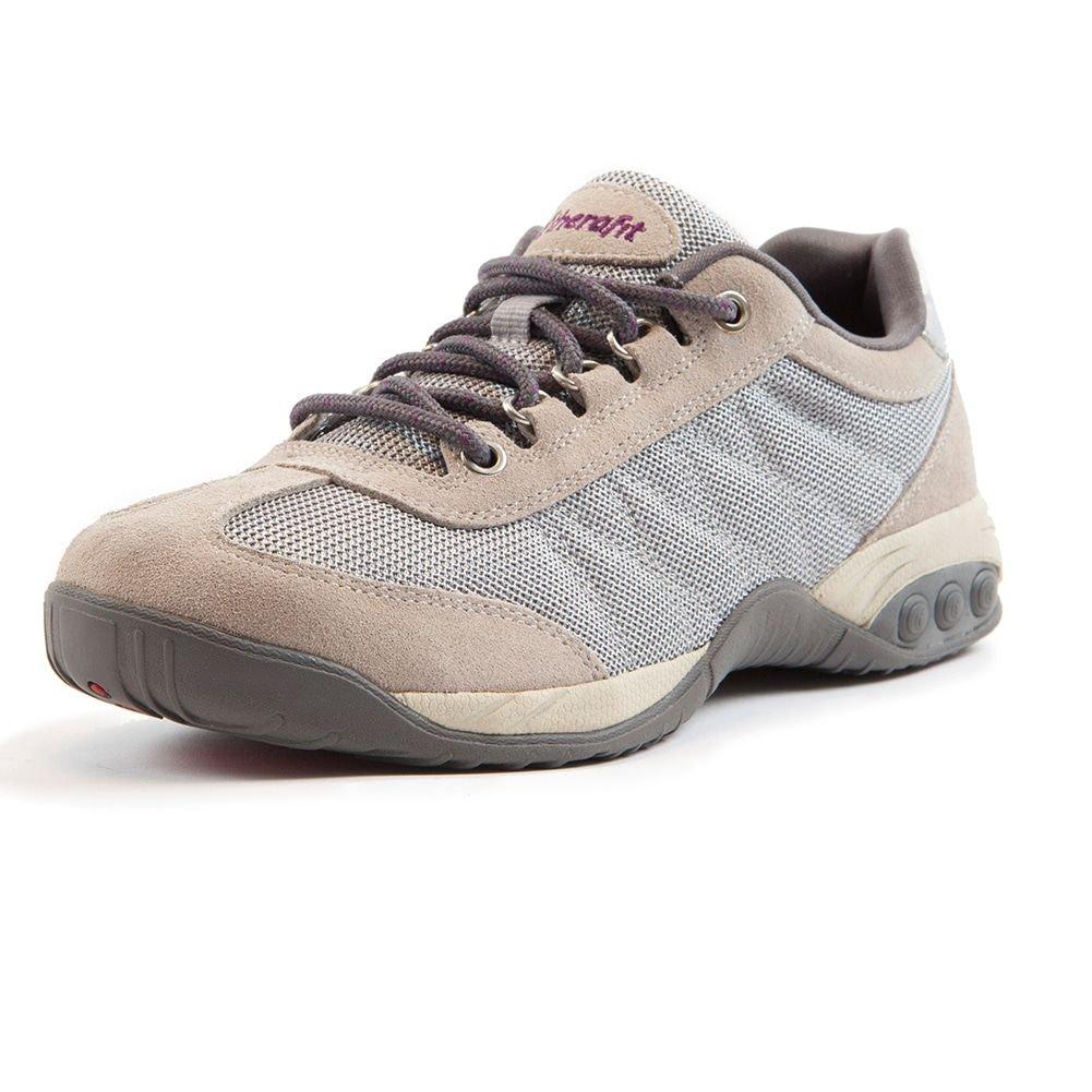 Therafit Shoe Women's Brandy 's Mesh Athletic Shoe B016D8ANTK 9 B(M) US|Grey