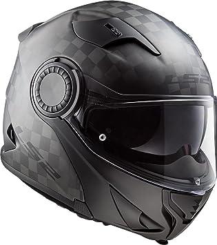 LS2 Motorradhelm FF313 VORTEX CARBON S Schwarz