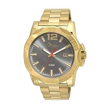 Relógio Condor Masculino Civic Co2415bf 4c - Dourado  Amazon.com.br ... 39d783781a