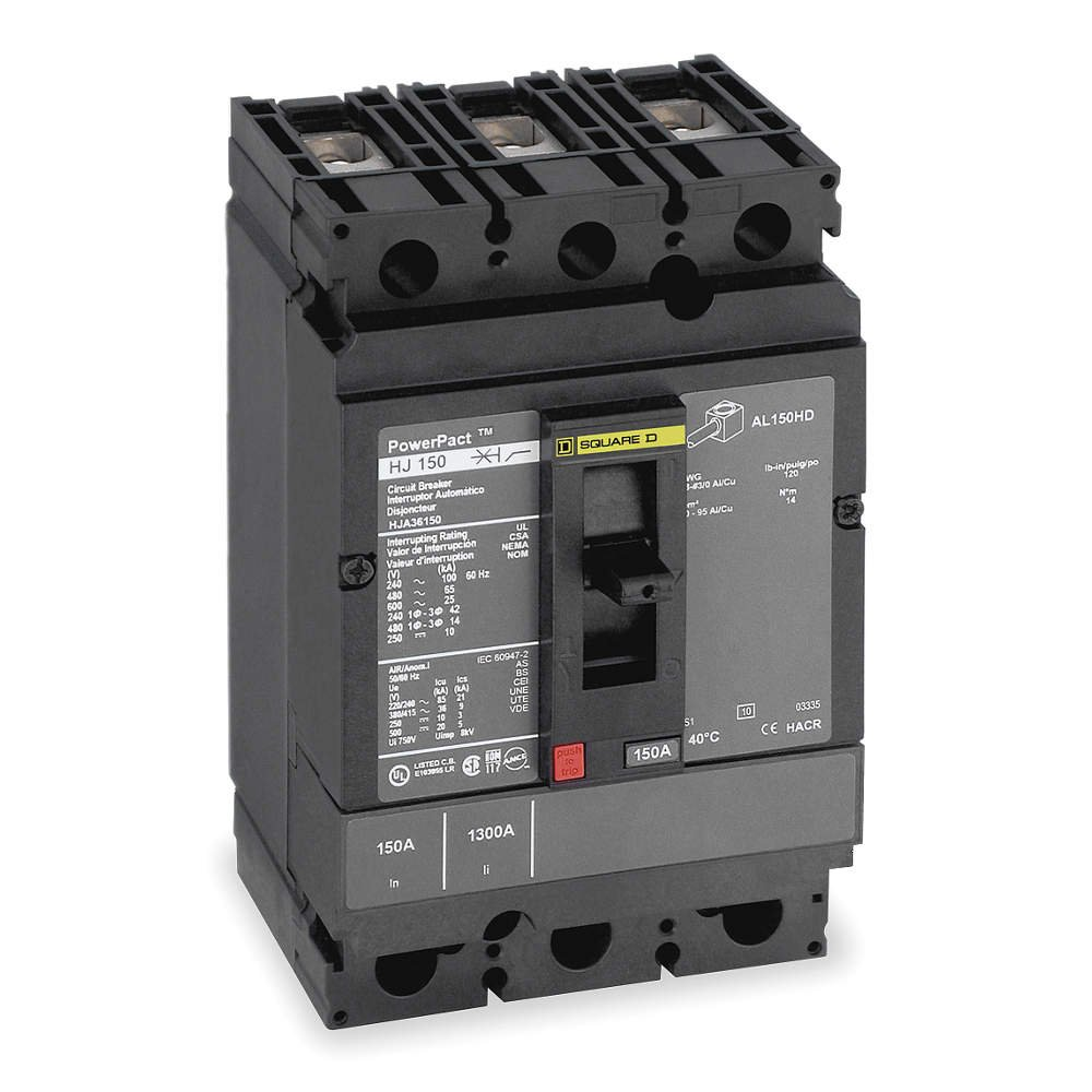 Siemens BQ3B030 30-Amp Three Pole 240-Volt 10KAIC Lug In//Lug Out Breaker