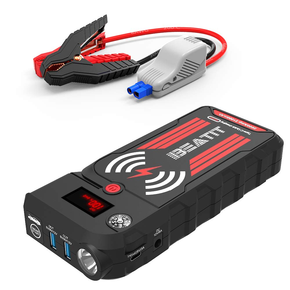 Beatit BT-G18 2000A Peak 21000mAh 12V Portable Car Jump Starter (up To 8.0L Gas And 8.0L Diesel) Auto