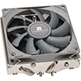 Thermalright AXP-90R Low Profile CPU Cooler with 4 Heatpipes, 47mm Height, 90mm PWM Fan, AMD AM4 CPU Cooler