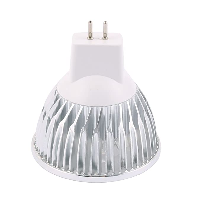 eDealMax DC 12V 4W MR16 4 LED ultra brillante COB bulbo del proyector de Downlight ahorro de energía blanco puro - - Amazon.com