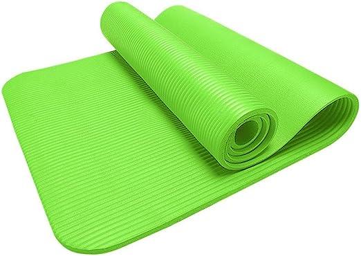 "Extra Thick 3//4/"" 15 mm Non Skid 72/"" X 24/"" High Density Foam Yoga Mat Black"