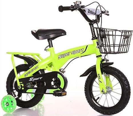 K-G Bicicleta Infantil Bicicletas niños, niños Rueda de Bicicleta ...