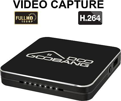 Globmall HD Juego Captura, grabación de vídeo Capture 1080P, HDMI para Playstation 4, Xbox One y Xbox 360, grabadora de Juego de Dispositivo, Apoyo Entrada de micrófono: Amazon.es: Electrónica