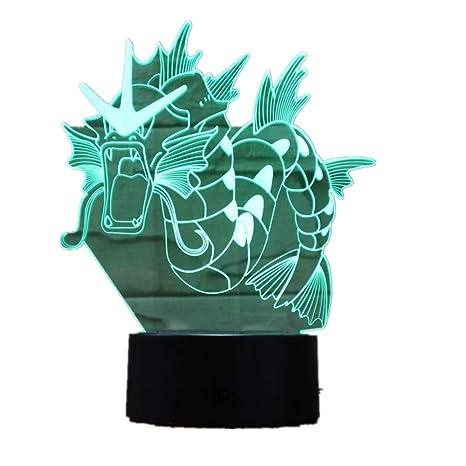 Lámpara de ilusión visual Wangzj 3d / luz de noche de acrílico ...