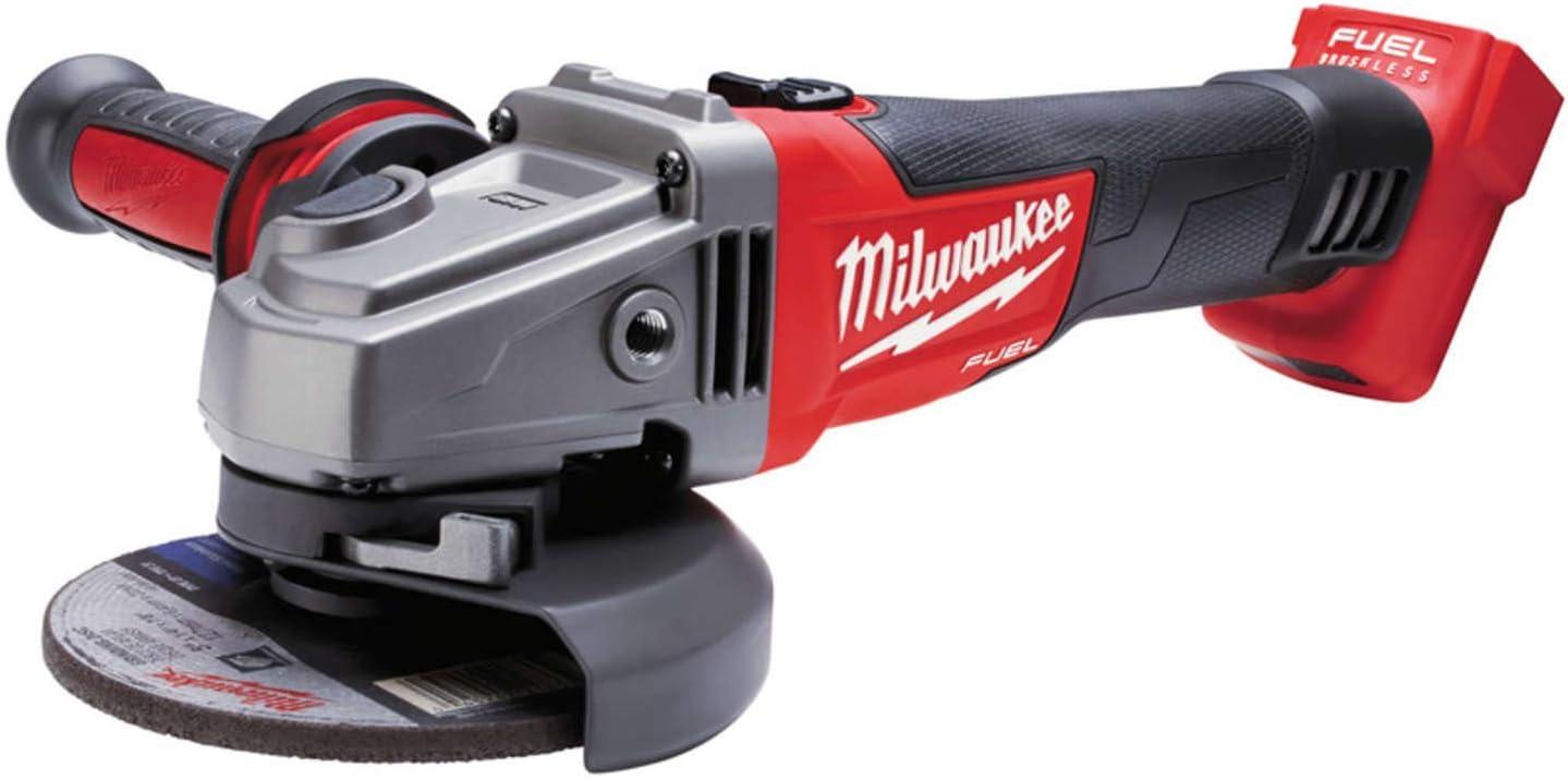125 mm sans batterie HD-Box Milwaukee m18 cag125xpdb-0x Batterie-angle Meuleuse