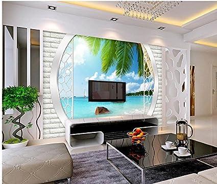 Wapel 3D Wallpaper Home Decoration 3D Tv Backdrop Mural ...