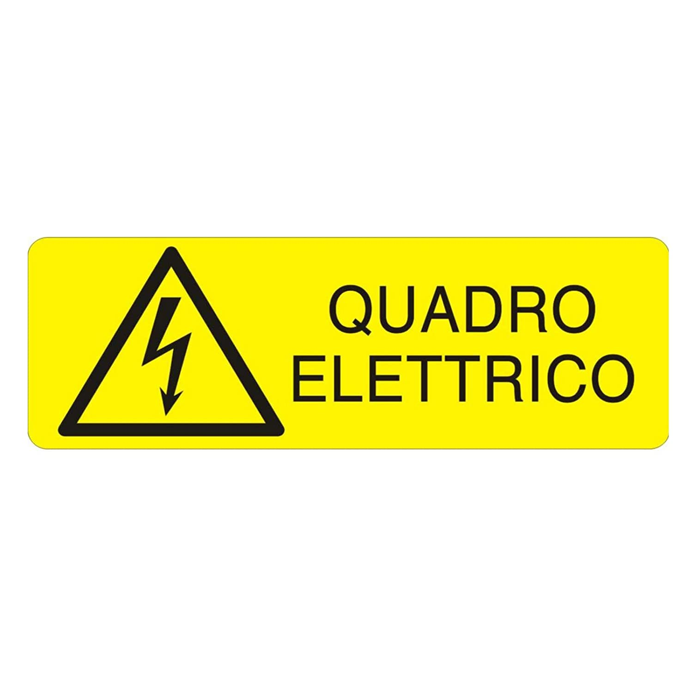 carteles de seguridad uni7543 Cuadro eléctrico