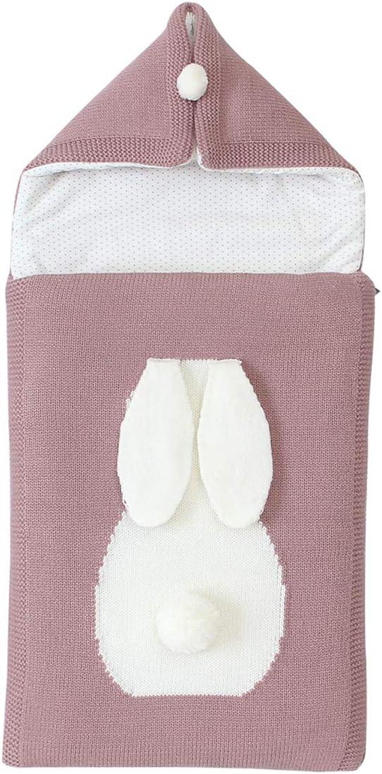Qinhum Sacos de Dormir para Bebés Envoltura de Cochecito de Manta Sacos de Dormir para Recién Nacidos para Bebés de 0-12 Meses